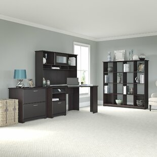 Hillsdale 4-Piece L-Shape Desk Office Suite