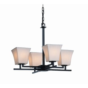 World Menagerie Biston 4 Light Chandelier