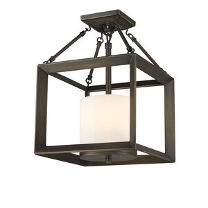 Coxsackie 3-Light Semi Flush Mount