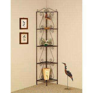 Clemens Corner Unit Bookcase b..