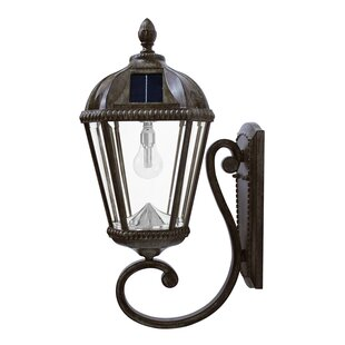 Royal Solar Powered 7-Light Outdoor Sconce