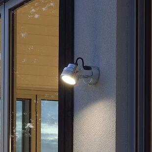 Monza Modern Adjustable Angle 1 Light Outdoor Spotlight By Konstsmide