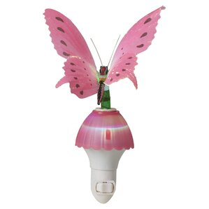 Ayana Fiber Butterfly Night Light