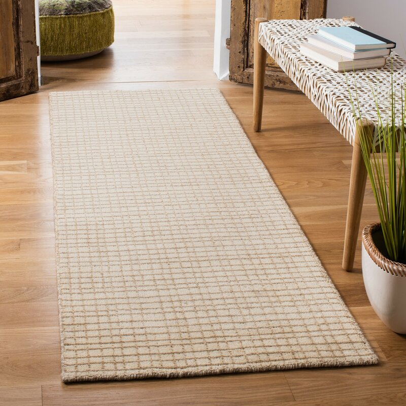Safavieh Himalayan Geometric Handmade Tufted Wool Beige Area Rug Reviews Wayfair