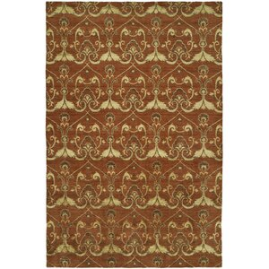 Dumraon Handmade Terra Cotta Area Rug