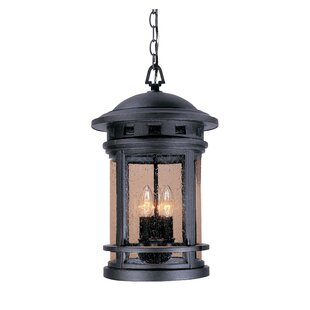 Lisette 3-Light Outdoor Hanging Lantern