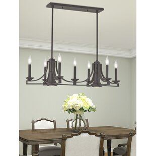 Darby Home Co Dedham Linear 7-Light Kitchen Island Pendant