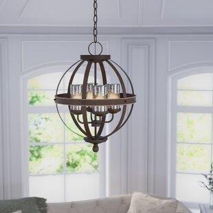 Tuscany 4-Light Globe Chandelier ByBirch Lane™
