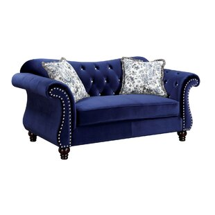 Javon Chesterfield Loveseat
