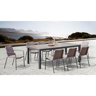 Ironwood 9 Piece Dining Set by Wrought Studio