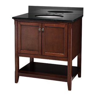 Price comparison Auguste 30 Single Bathroom Vanity Base Only By Hazelwood Home