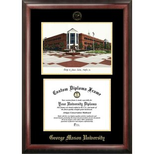 NCAA George Mason University Diploma Lithograph Picture Frame By Campus Images