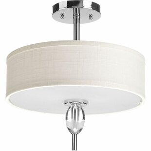 Jaelanie 2 Light Semi Flush Mount by Latitude Run