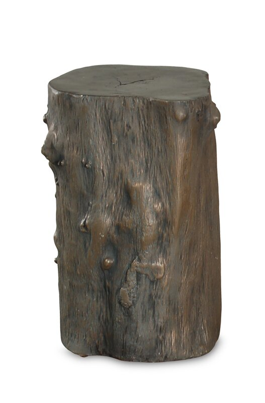 Log Stool - Get the Look! Modern Rustic Interior Design in a Masculine Ski Chalet