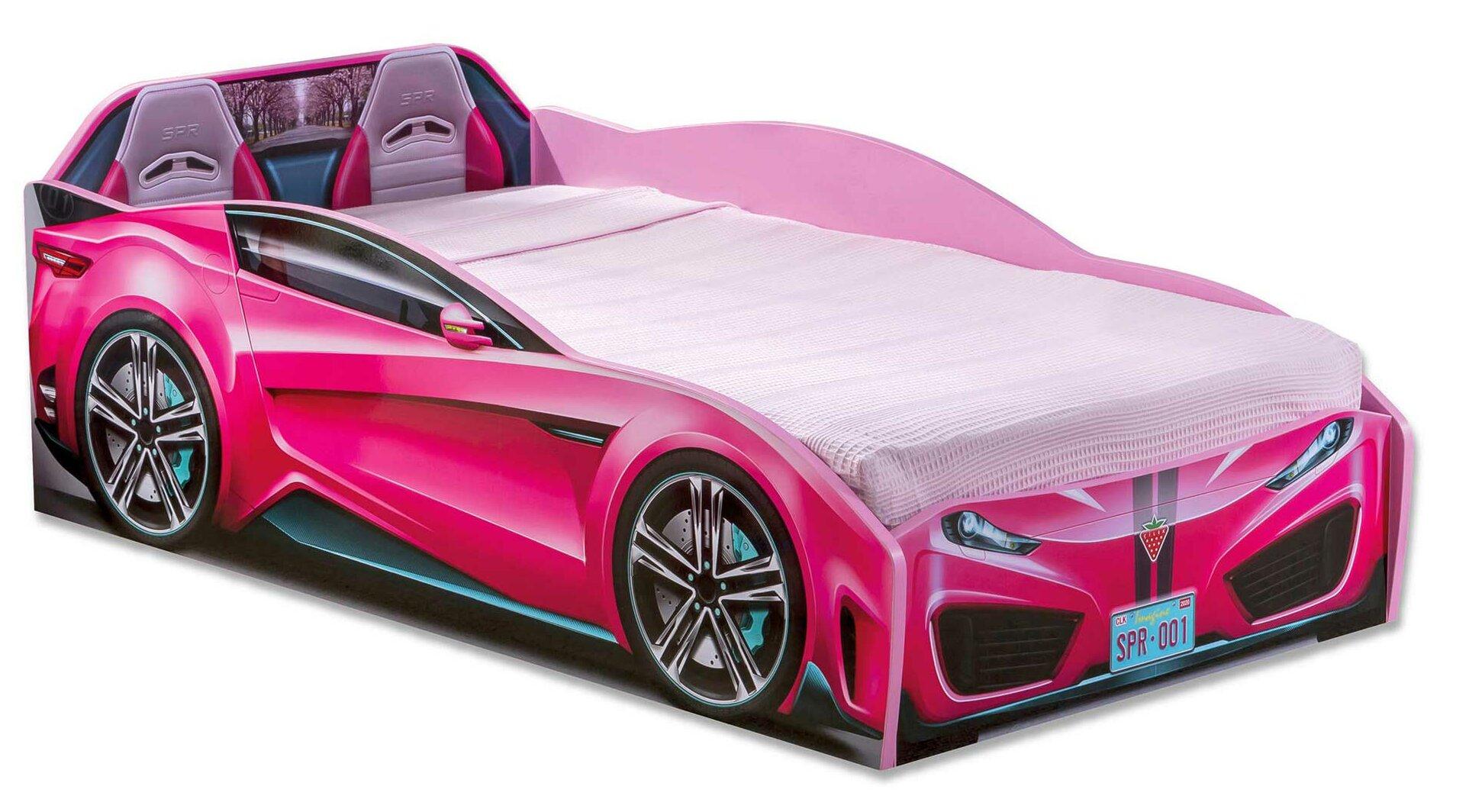 Zoomie Kids Kurtz Race Toddler Car Bed Reviews Wayfair