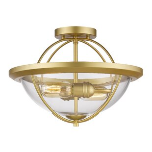 Trent Austin Design Boylon 2-Light Semi Flush Mount