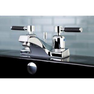 Kaiser Centerset Bathroom Faucet with Drain Assembly ByKingston Brass