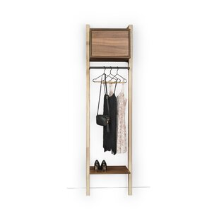 Promontory 50cm Wide Wardrobe Rail By Ebern Designs