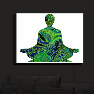 Bloomsbury Market Man Woman Yoga II' Print on Fabric