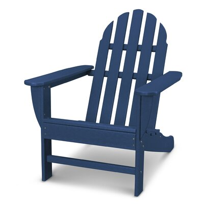 Classic Adirondack Chair Color: Navy