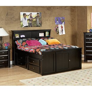 Buy luxury Eldon Full Bed with Bookcase Headboard and Storage by Harriet Bee Reviews (2019) & Buyer's Guide