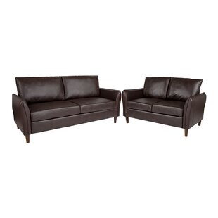 Lauderhill Upholstered 2 Piece Living Room Set by Ebern Designs
