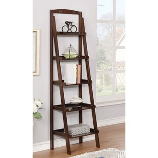 Shellie Ladder Bookcase by Charlton Home