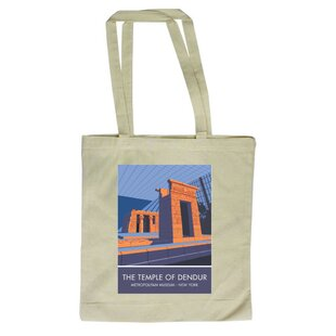 Temple Of Dendur, New York Tote Bag By East Urban Home