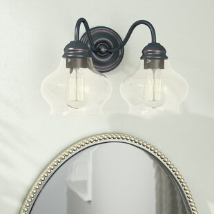 Best Deals Bateson 2-Light Vanity Light By Three Posts