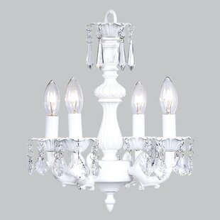 Jubilee Collection Fountain 4-Light Candle Style Chandelier