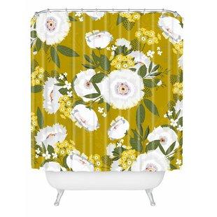 Iveta Abolina Fleurette Midday Single Shower Curtain