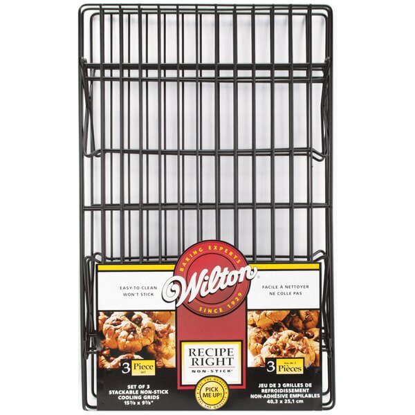 3-Piece Non-Stick Cooling Rack Set