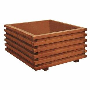Madilyn Wood Planter Box By Freeport Park