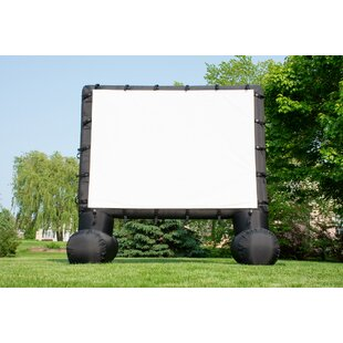 Outdoor Inflatable White 12362 Portable Projection Screen