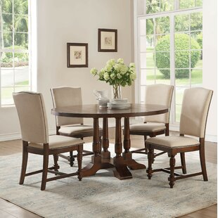 Lobos Round 5 Piece Dining Set