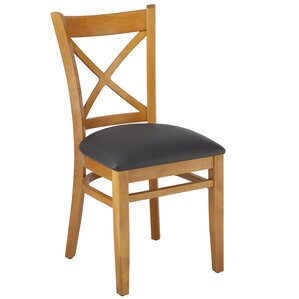 Crossback Solid Wood Dining Chair (Set of 2) by Benkel Seating
