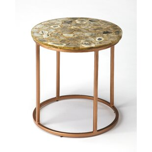 Aliya Agate End Table by E..