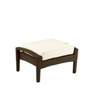 Trinidad Ottoman with Cushion by Woodard
