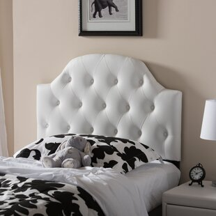Cragin Twin Upholstered Panel Headboard by Harriet Bee