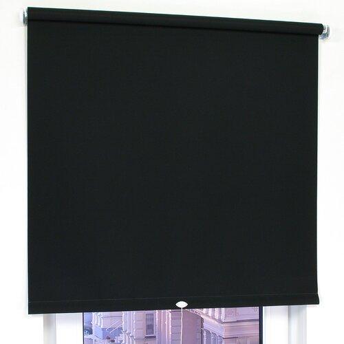 Springrollo Tageslicht ClearAmbient Größe: 132 x 180 cm  Farbe: Schwarz   Heimtextilien > Jalousien und Rollos > Springrollos   ClearAmbient