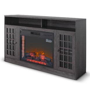 Brogdon Media Console Mantel TV Stand Electric Fireplace by Winston Porter