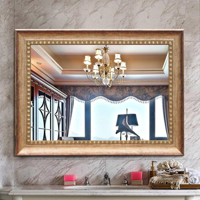 Bodden Rectangle Hangs Horizontal & Vertical Wall-Mounted Mirror for Living  Room/Bedroom/Cloakroom Dressing Mirror, Bathroom Mirror, Vanity Mirror