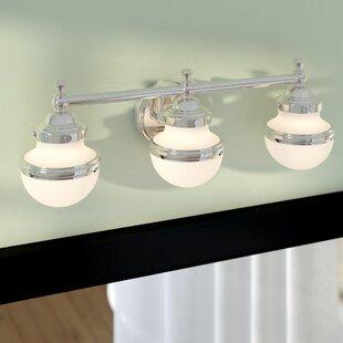 Reviews Myers 3-Light Vanity Light ByAndover Mills