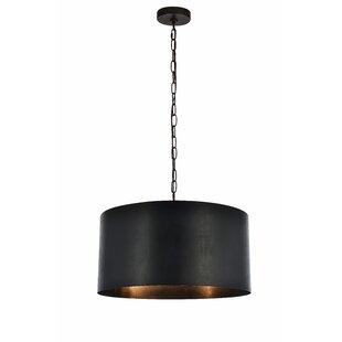 Modern 3 light pendant lighting allmodern save mozeypictures Images