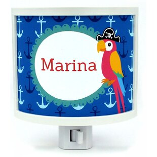 Common Rebels Parrot Personalized Night Light