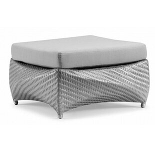 100 Essentials Peak Ottoman with Cushion