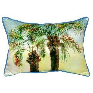 Trevino Palms Indoor/Outdoor Lumbar Pillow