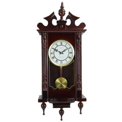 Classic Chiming Wall Clock Bedford Clock