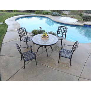 August Grove Feder 5 Piece Dining Set