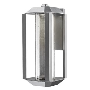 Latitude Run Spiro 1-Light Outdoor Flush Mount